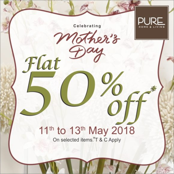Mothers day 50%