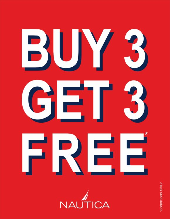 nautica buy 3 get 3