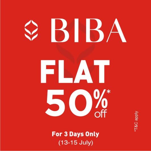 Biba flat 50%