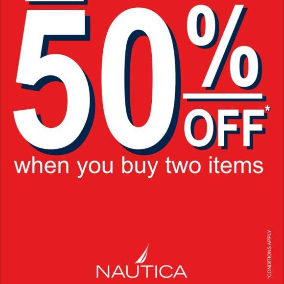 Nautica flat 50%